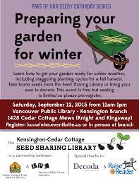 vancouver public library cedar cottage food network