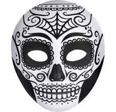 day of the dead masks day of the dead sugar skull mask party city