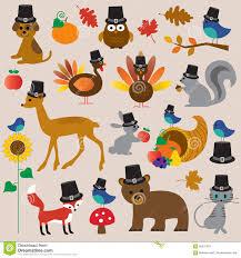 clipart thanksgiving free thanksgiving animals clip art stock illustration image 59376379