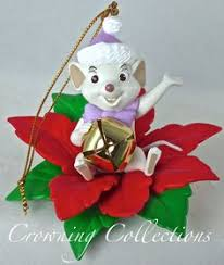 grolier the three fairies ornament from sleeping disney