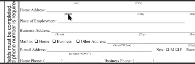 how to properly fill out a florida notary application nna