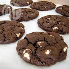 chocolate cookies with white chocolate chips recipe all recipes uk