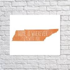tennessee state sign wood burning home decor nashville