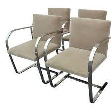 Gingham Armchair Vintage U0026 Used Mid Century Modern Office Chairs Chairish