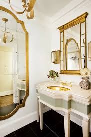gold french mirror french bathroom j hirsch interior design