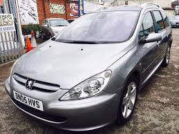 peugeot 307sw 2 0hdi136 xsi estate diesel manual grey panoramic