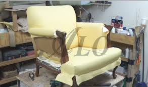 how to reupholster the arm and back of a chair alo upholstery