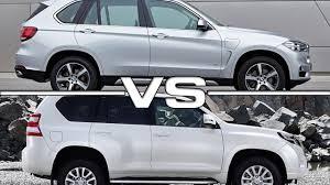 lexus lx 570 dimensions 2016 bmw x5 vs 2016 toyota land cruiser prado youtube