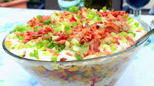 Bacon Main Dishes - pot luck main dishes part 15 cowboy cornbread trifle a savory