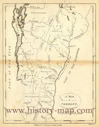 Map Vermont A Map Of Vermont