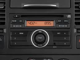 nissan versa base model 2010 nissan versa radio interior photo automotive com
