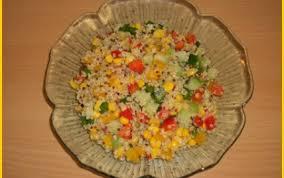 cuisiner quinoa recette salade de quinoa aux légumes croquants 750g