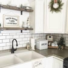 antique white kitchen cabinets with subway tile backsplash 1001 ideas for stylish subway tile kitchen backsplash