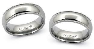 custom ring engraving tungsten rings custom options