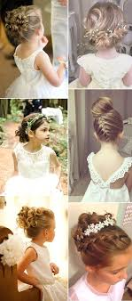 no fuss wedding day hairstyles best 25 little girl updo ideas on pinterest updos for little