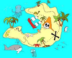 pirate treasure map coloring pages az pirate printable