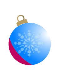 blue christmas ball ornament clip art at clker com vector clip