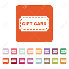 gift card discount the gift card icon coupon and discount offer symbol flat