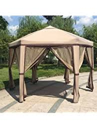 gazebos umbrellas canopies u0026 shade patio furniture amazon com