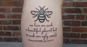 bee tattoos are swarming manchester for a beautiful reason cafemom