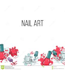 vector nail lacquer bottles stock vector image 59446215