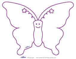 printable butterfly templates