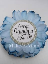 baby shower corsage baby shower favors grandma to be pin