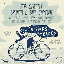 Good West Seattle Bike Routes by Friends On Bikes Seattle Brunch Bike Campout Seattle Bike Blog