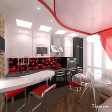 New Design For Kitchen Kitchen Exciting White Small Kitchen Ideas With Beige Wallpaper