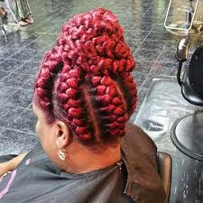 red cornrow braided hair 82 goddess braids hairstyles with pictures beautified designs