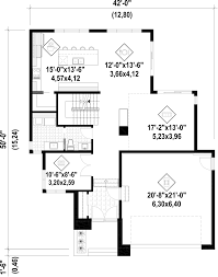 modern style home plans in 30 ft wide house plans 20 on designing design home with