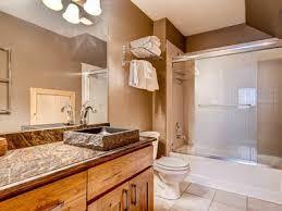 Shower With Bathtub Modern Log Home On Peak 7 With A Tub Homeaway Breckenridge