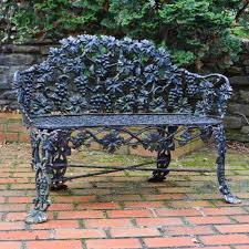 Cast Iron Bench Legs Manufacturers Cast Iron Bench With Lion Head Arms For At Stdibs Pics On