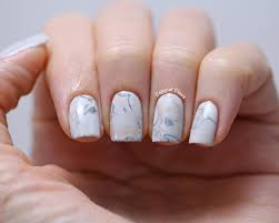 how to do water marble nail art nail art
