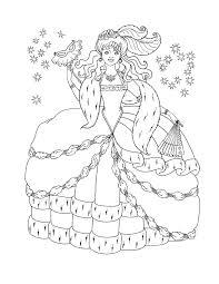 free coloring pages princess glum me