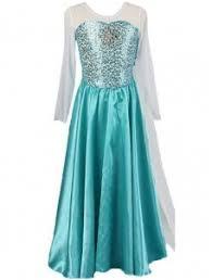 elsa dress cosplay costume in frozen wonder beauty lingerie dress