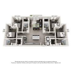 8 Unit Apartment Building Floor Plans Apartment Floor Plans The Luxx Student Housing Near Utsa