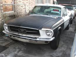 mustang project cars for sale 1967 mustang fastback 7t02c210399 project car for sale photos