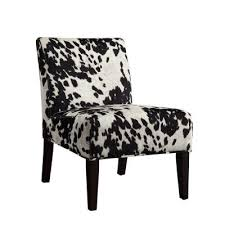 Black And White Accent Chair Black And White Accent Chair Facil Furniture