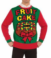 christmas sweaters tacky christmas sweaters fruitcake sweater retrofestive ca