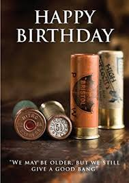 shooting birthday card amazon co uk kitchen u0026 home