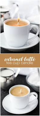 tea cup candle caramel latte tea cup candle simply stacie