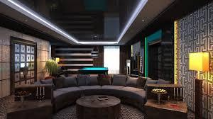 modern interior design elegant black wall dark wall in modern interior room youtube