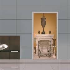 Egyptian Style Home Decor Dsu Egyptian Style Home Fireplace Wall Sticker Mural Bedroom Door