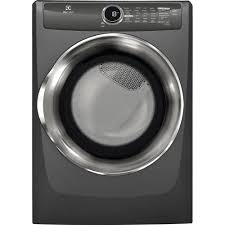Clothes Dryer Good Guys Electrolux 8 0 Cu Ft Electric Dryer With Steam In Titanium