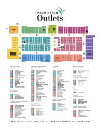 West Palm Beach Fl Map Palm Beach Outlets Map Adriftskateshop