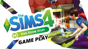 the sims 4 kids room stuff pack game play puppet theatre oh my
