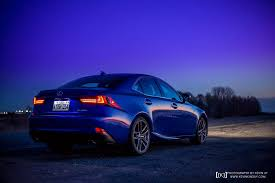 lexus sports car isf ultrasonic blue lexus is f sport at dusk for your desktop