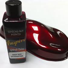 candy ruby red solvent base airbrush paint 100ml inspire