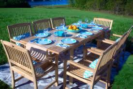 patio ideas patio teak furniture canada 7 piece teak wood